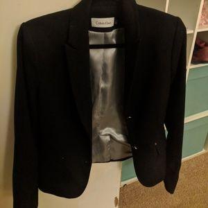 Calvin Klein navy suit jacket